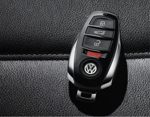 How To Use The Plastic Car Key For Volkswagen Passat