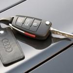 Audi keys Locked on car